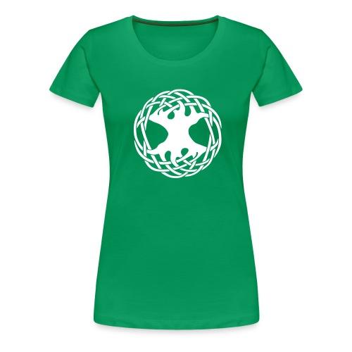 Celtic Tree - Frauen Premium T-Shirt