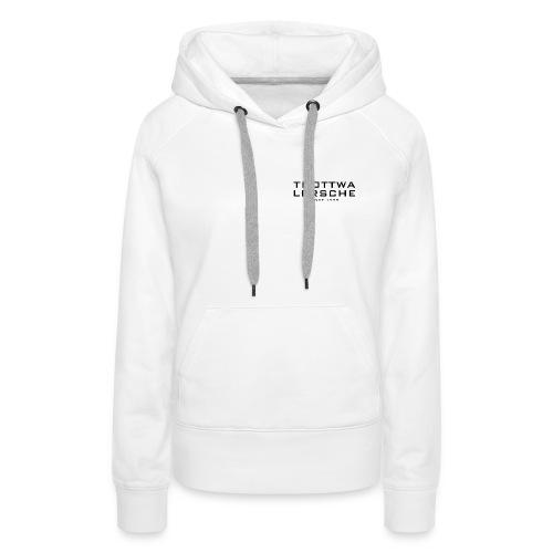 Frauen Premium Hoodie - Logo vorne und hinten
