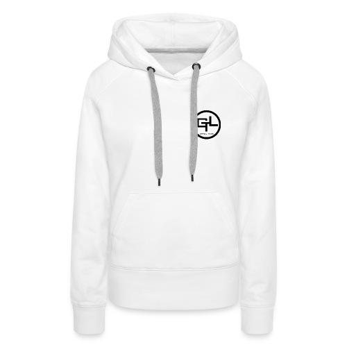 Frauen Premium Hoodie - Nur Logo vorne
