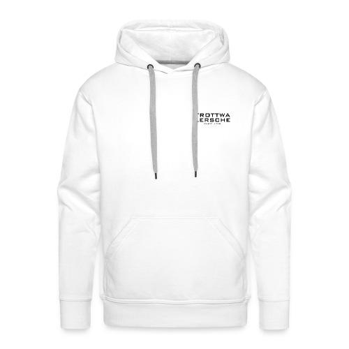 Männer Premium Hoodie - Nur Logo vorne