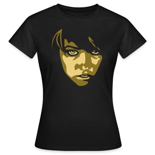 Girlie auf Continental Classic - Frauen T-Shirt