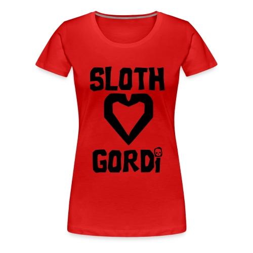 Camiseta Girl Love Goonie 4 - Camiseta premium mujer