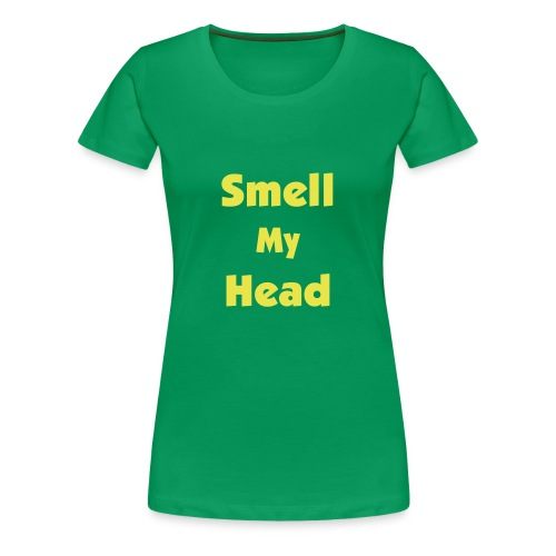 Green Ladies Head - Women's Premium T-Shirt