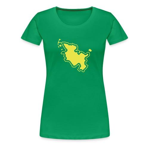 Girlieshirt Land Schleswig-Holstein - Frauen Premium T-Shirt