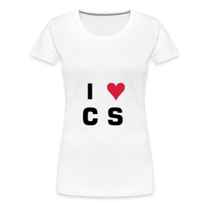 Girls I heart - Women's Premium T-Shirt