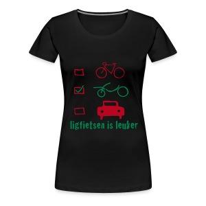 LiL girlie/flock - Vrouwen Premium T-shirt