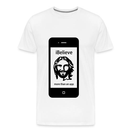 more than an app - Männer Premium T-Shirt