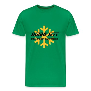Jimbo Jett T-shirt (green) - Men's Premium T-Shirt