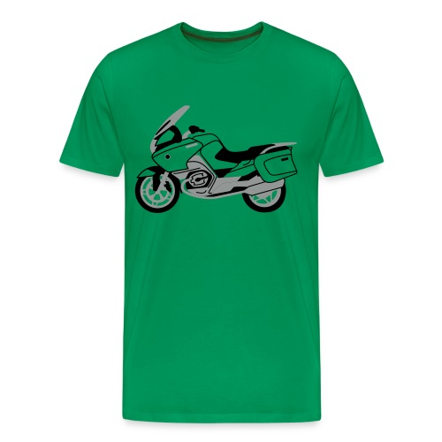 R1200RT Silver Lowers (Green) - Men's Premium T-Shirt