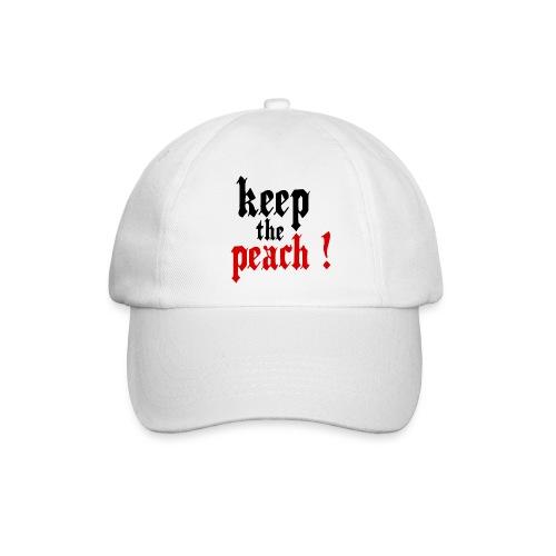 Casquette Keep the peach ! - Casquette classique