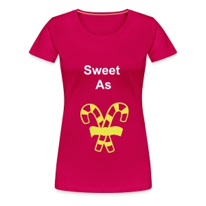 sweet as candy - Women's Premium T-Shirt