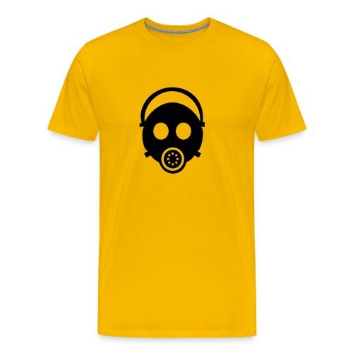 t-shirt gas mask - Mannen Premium T-shirt