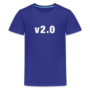 v2.0 kids shirt - Teenage Premium T-Shirt