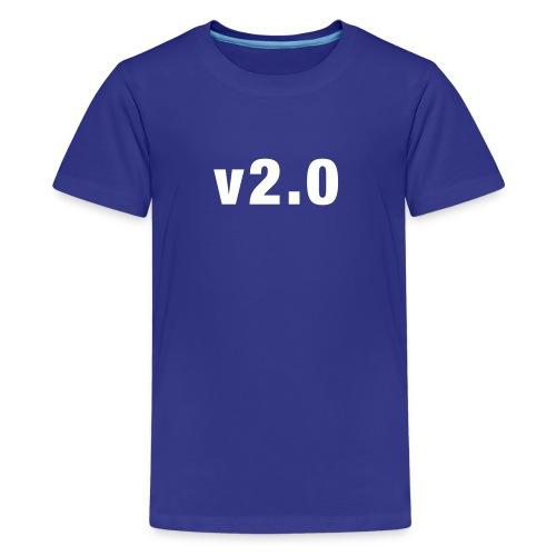 v2.0 kids shirt - Teenage Premium T-Shirt
