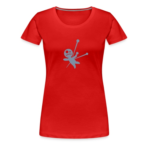 CD Ladies Voodoo Red - Women's Premium T-Shirt