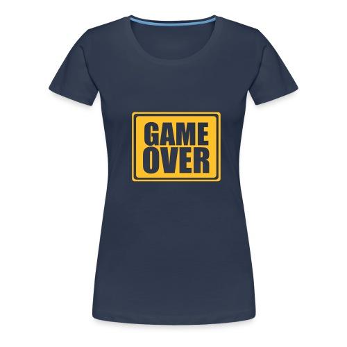 Game over - Girlie-Shirt - Frauen Premium T-Shirt