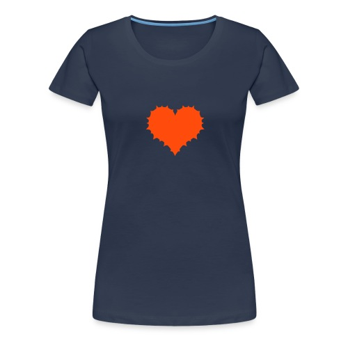 Stachliges Girlie-Shirt - Frauen Premium T-Shirt