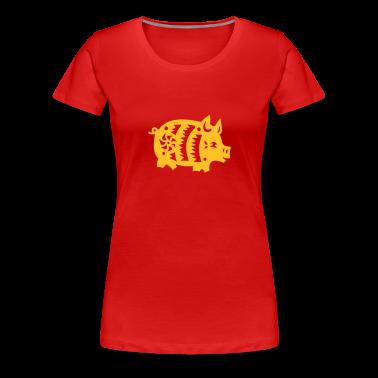 Rot chinesisches Horoskop: Schwein Girlie