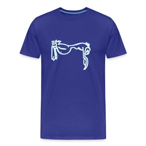 Silly Duck Power Reflex (Farbwahl möglich) - Männer Premium T-Shirt