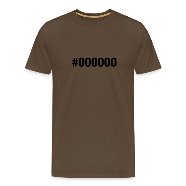 black - #000000