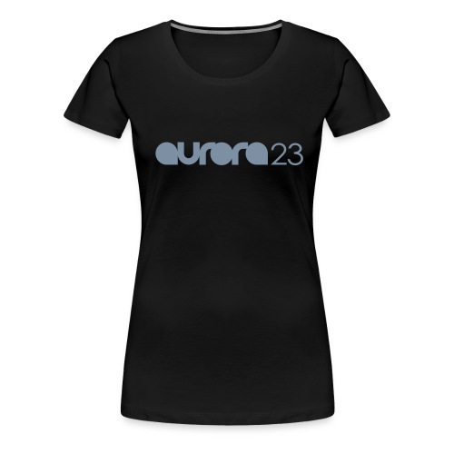 Ladies Aurora23 Logo Tee - Women's Premium T-Shirt