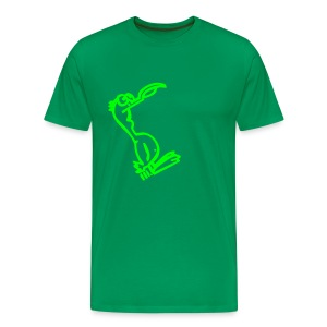 Silly Duck Comfor-T - green - Männer Premium T-Shirt
