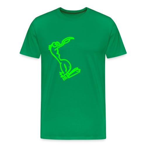 Silly Duck Comfor-T - green - Männer Premium T-Shirt