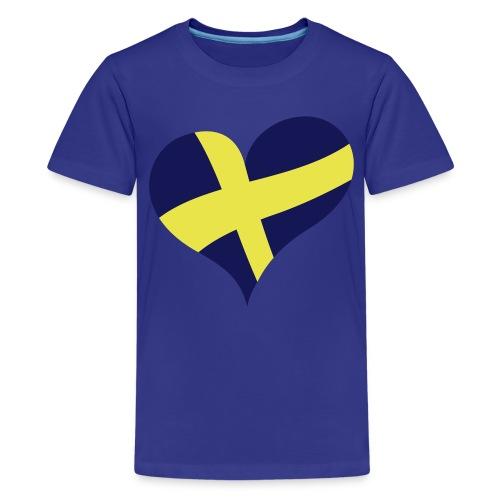 Barn t-shirt - Premium-T-shirt tonåring
