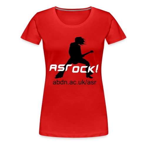 ASRock! Red (Girl-T) - Women's Premium T-Shirt