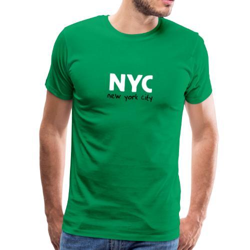 T-Shirt NYC grasgrün - Männer Premium T-Shirt