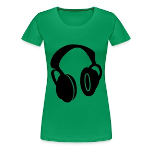 DJ chick - Women's Premium T-Shirt