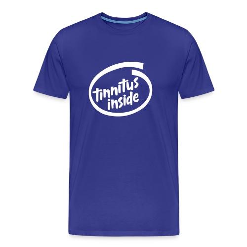 Tinnitus Inside - Premium T-skjorte for menn