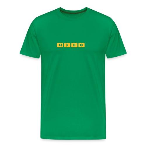 Press play boys - Mannen Premium T-shirt