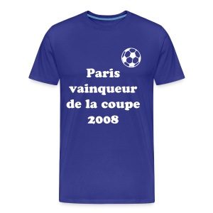 T-shirt Paris coupe 2008 - T-shirt Premium Homme
