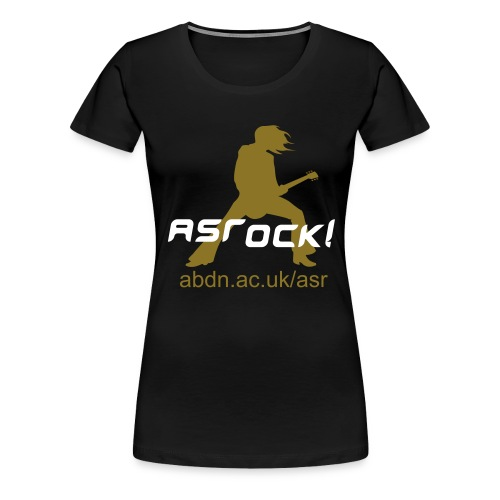 ASRock! Metallic (Girl-T) - Women's Premium T-Shirt