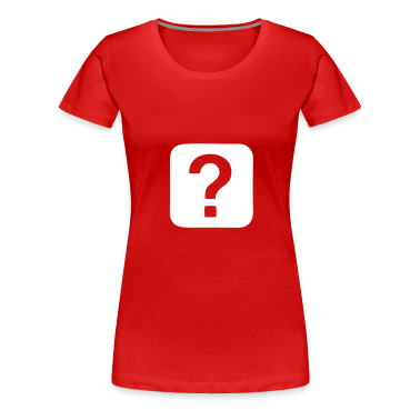 Red Question Mark - Question Ladies'