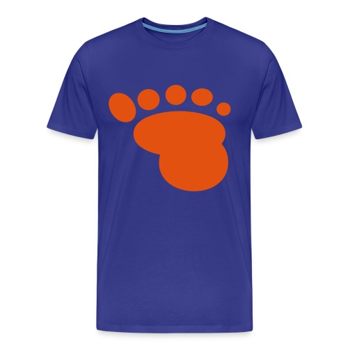 'Stamped' Kids Comfort T T-Shirt- Blue - Men's Premium T-Shirt
