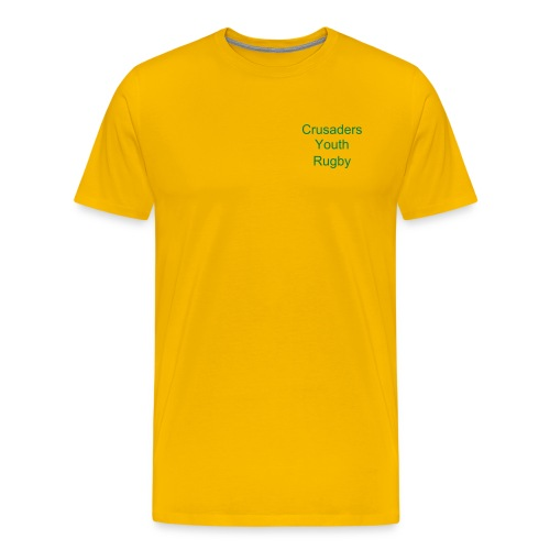 Life's Tough - Yellow/Green - Men's Premium T-Shirt