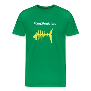 Basic Pike & Predators t-shirt - Men's Premium T-Shirt