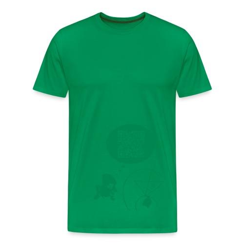 CAMISETA EL PROBLEMA DE FERMI - Camiseta premium hombre