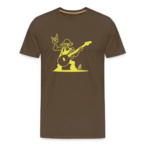 jurrasic rock - Mannen Premium T-shirt