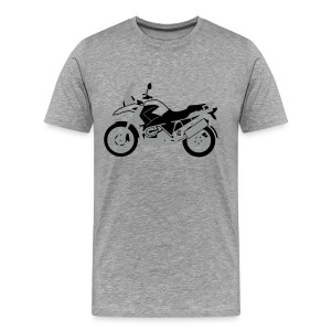 R1200GS 08-on (Ash Grey) - Men's Premium T-Shirt