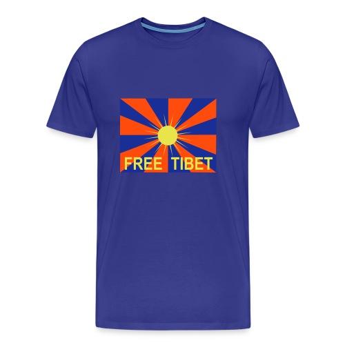 Free Tibet - Männer Premium T-Shirt