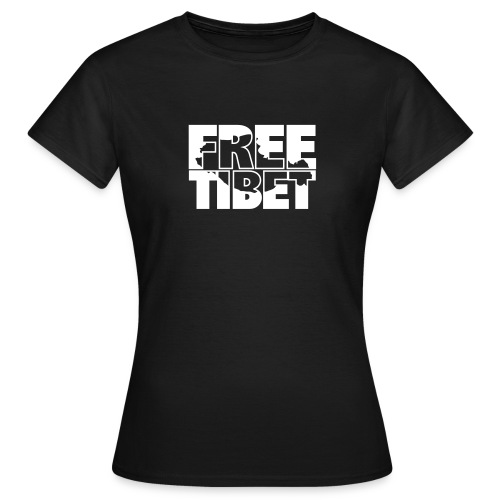 Free Tibet Border - Frauen T-Shirt