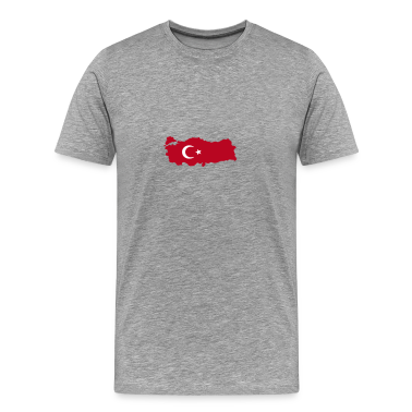 Ash turkey flag map T-Shirts