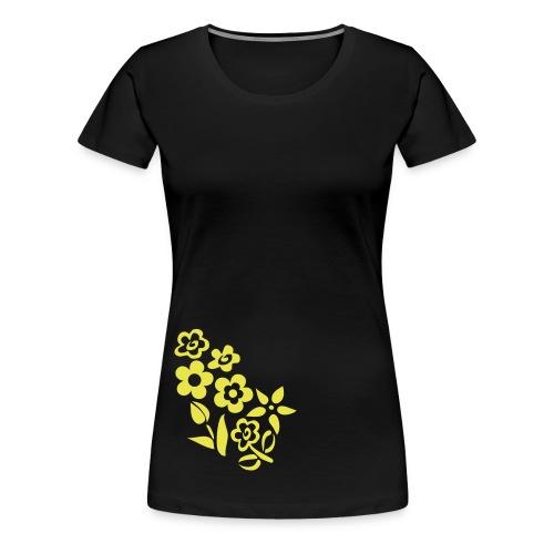 Lüdenscheid's Borussen Girly schwarz/gelb - Frauen Premium T-Shirt
