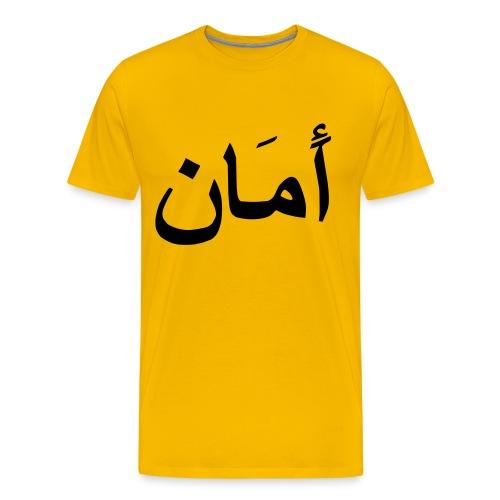 PEACE, SUMMER 2008 - Herre premium T-shirt
