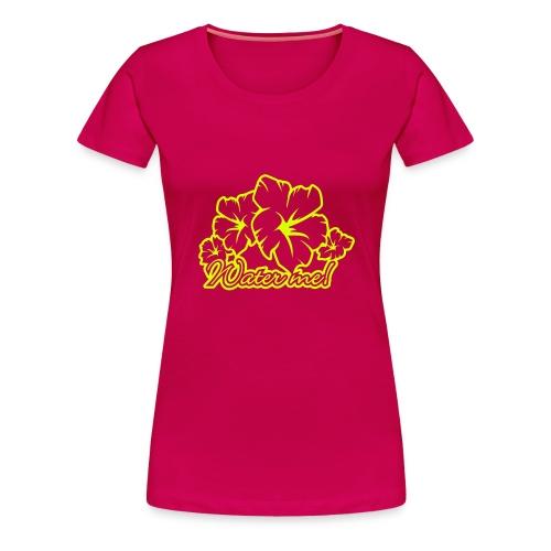 Tropical Pink - Women's Premium T-Shirt
