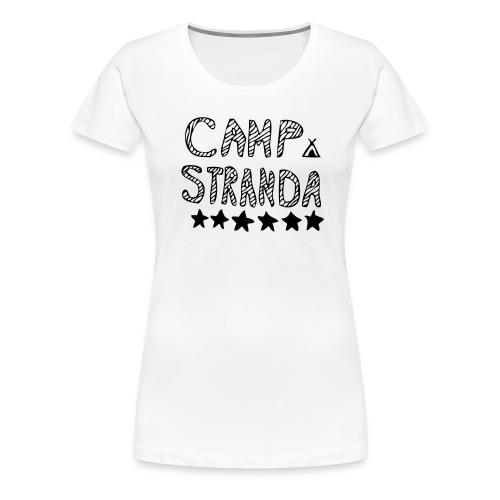 CS-jenteskjorte (kvit) - Premium T-skjorte for kvinner