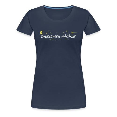 Reflex-Shirt Shirt Dresdner Nächte - Girl - Frauen Premium T-Shirt